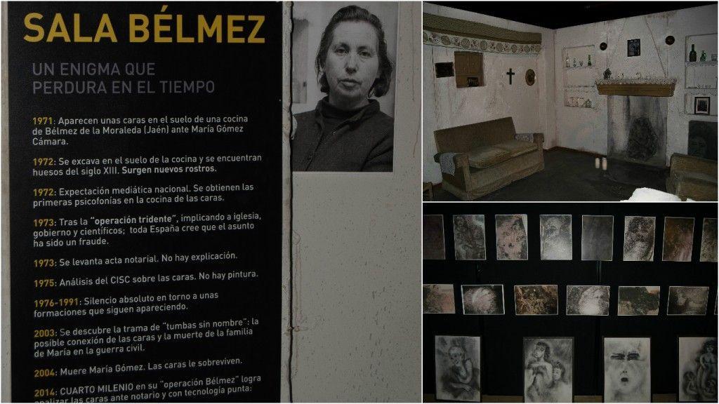 Exposicion cuarto milenio , las caras de Belmez - Los viajes de Margalliver